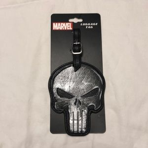 ⭐️ New The Punisher Marvel Luggage Bag Tag ⭐️